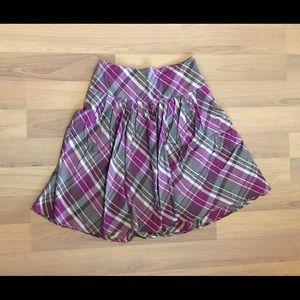St. John's Bay size 10 Pleated Skirt.